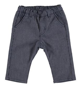 Raffinato pantalone rigato minibanda NAVY-3854