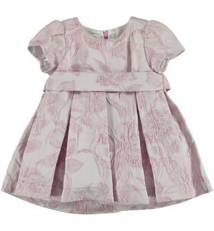 Elegante abitino in raffinato tessuto damascato minibanda MALVA-3016