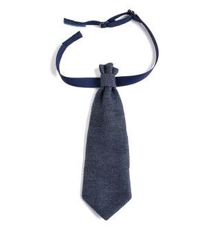 Cravattina per neonato minibanda BLU MELANGE-8953
