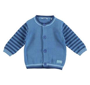 Cardigan 100% cotone per neonato con pesciolino minibanda AVION-3724