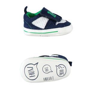 Comode e confortevoli scarpe neonato minibanda NAVY-3854