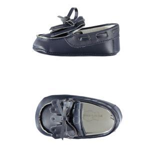 Eleganti e comode scarpe cerimonia per neonato minibanda NAVY-3854