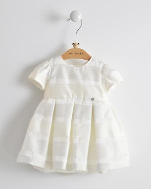 Vestitino cerimonia primavera estate per neonata minibanda PANNA-0112