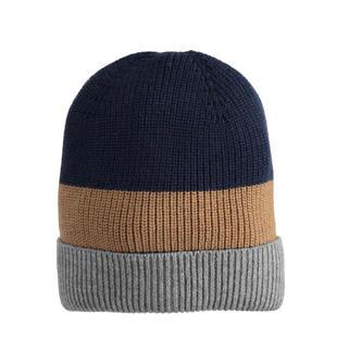 Cappello modello cuffia in tricot a bande ido AVION-0818
