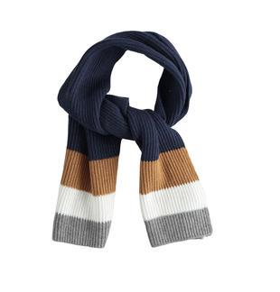Sciarpa in tricot a bande ido NAVY-3885