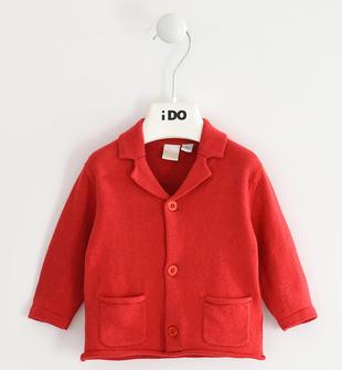 Grazioso cardigan iDO per neonato ido ROSSO-2253