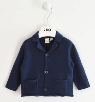 Grazioso cardigan iDO per neonato ido NAVY-3885