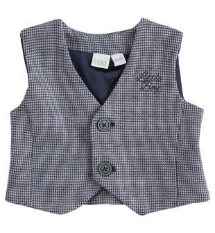 Elegante gilet per neonato ido NAVY-3885