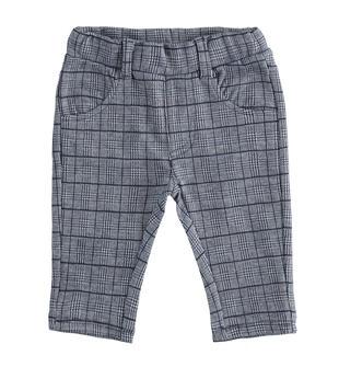 Elegante pantalone iDO per neonato lavorazione jacquard ido NAVY-3885