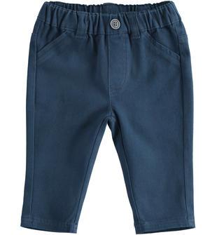 Pantalone per neonato in twill ido NAVY-3885