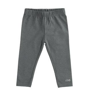 Leggings in jersey stretch ido GRIGIO MELANGE SCURO-8994
