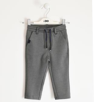 Elegante e pratico pantalone per bambino ido ANTRACITE-0558