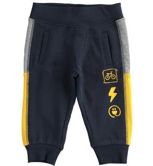 Comodo pantalone in felpa