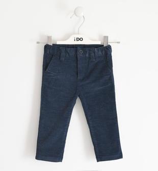 Pantalone in twill effetto fustagno ido NAVY-3885