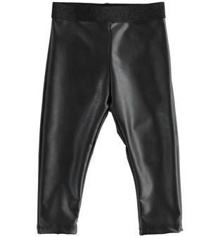 Pantalone bambina ido NERO-0658
