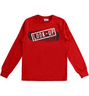 Calda maglietta in jersey 100% cotone stampa