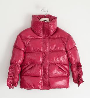 Giubbotto in nylon lucido per bambina ido MAGENTA-2681