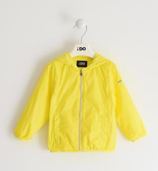 Colorata giacca a vento per bambina ido GIALLO-1434