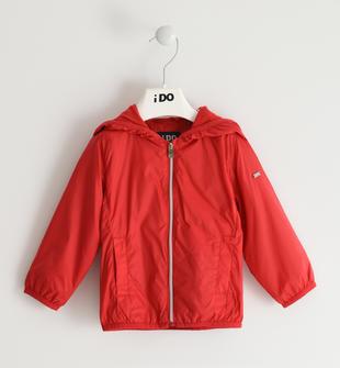 Colorata giacca a vento per bambina ido ROSSO-2256