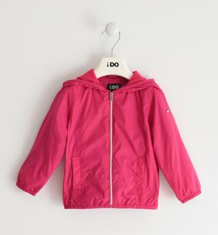 Colorata giacca a vento per bambina ido FUXIA-2355