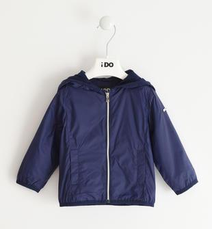 Colorata giacca a vento per bambina ido NAVY-3854