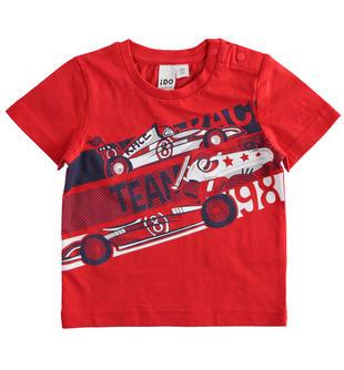 Sportiva t-shirt 100% cotone ido ROSSO-2256