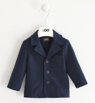 Elegante giacca in punto milano per le occasioni speciali ido NAVY-3885