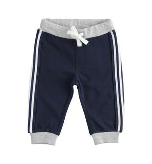 Pantalone in felpa leggera con numeri ido NAVY-3885