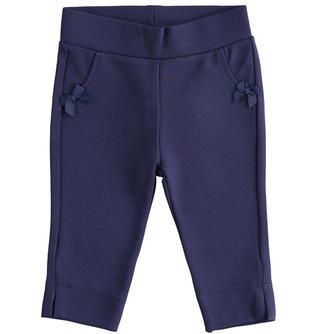 Pantalone in punto milano con fiocchi ido