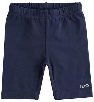Pantalone corto modello ciclista in jersey stretch ido NAVY-3854