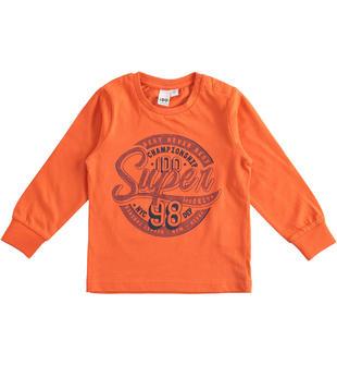 Leggera e colorata maglietta 100% cotone ido