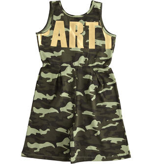 Graziosa jumpsuit camouflage ido VERDE-VERDE-6MT1