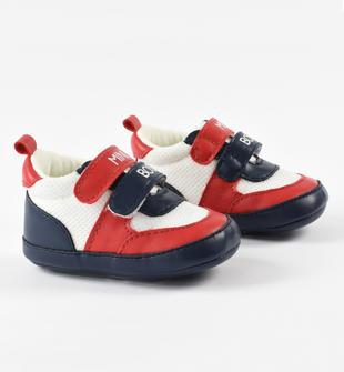 Sneakers MINI BOSS ido ROSSO-BLU-8010
