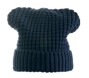 Cappello modello cuffia in tricot ido NAVY-3885