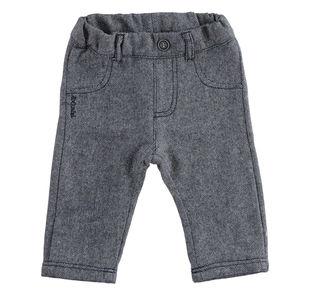 Pantalone in tessuto spigato ido NAVY-3885