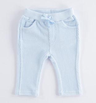Pantalone in morbidissimo velluto ido SKY-5818