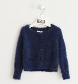 Giacca modello rebecchina da bambina in tricot ido NAVY-3854