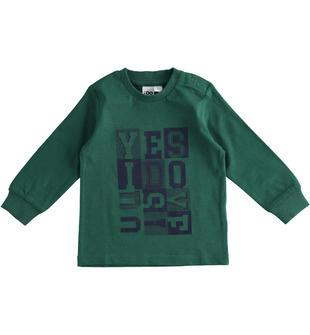 Maglietta in jersey 100% cotone