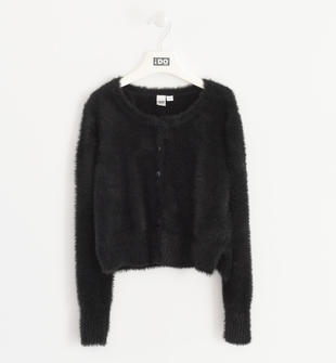 Elegante cardigan in tricot lurex ido NERO-0658