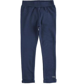 Leggings caldo cotone garzato ido NAVY-3854