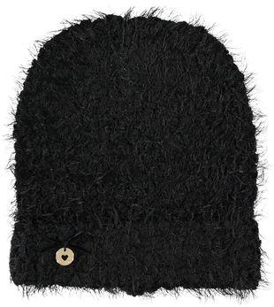 Cappello in tricot effetto ciniglia ido NERO - 0658