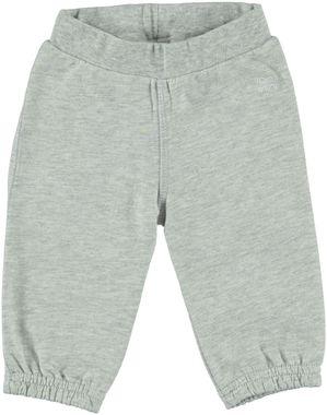 Pantalone lungo 100% cotone con orsetto ido GRIGIO MELANGE-8991
