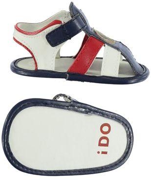 Sandalino per neonato ido BLU-ROSSO - 8031