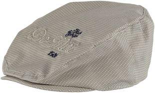 Cappellino modello coppola misto cotone ido BEIGE-BEIGE - 6F01