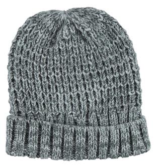 Berretto bambino in tricot misto lana ido GRIGIO MELANGE - 8992