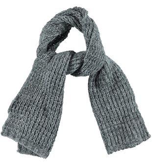 Sciarpa bambino in tricot misto lana con filato melange ido GRIGIO MELANGE - 8992