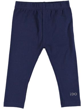Versatile e comodo leggings bambina in cotone elasticizzato ido NAVY - 3854
