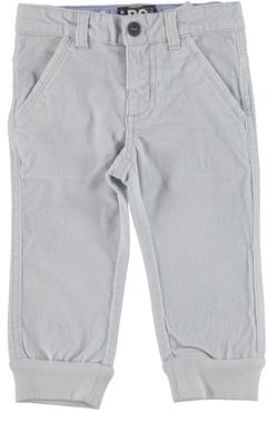Pantalone in fustagno modello jogger ido GRIGIO - 0516