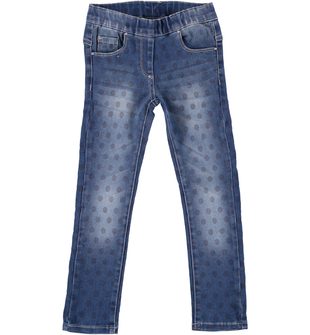 Pantalone in denim modello jeggings ido DENIM-BLU - 6N35