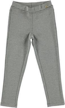 Pantalone per bambina lavorazione jacquard ido NERO - 0658